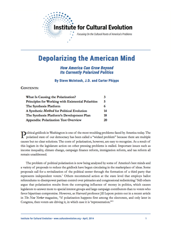 Depolarizing the American Mind