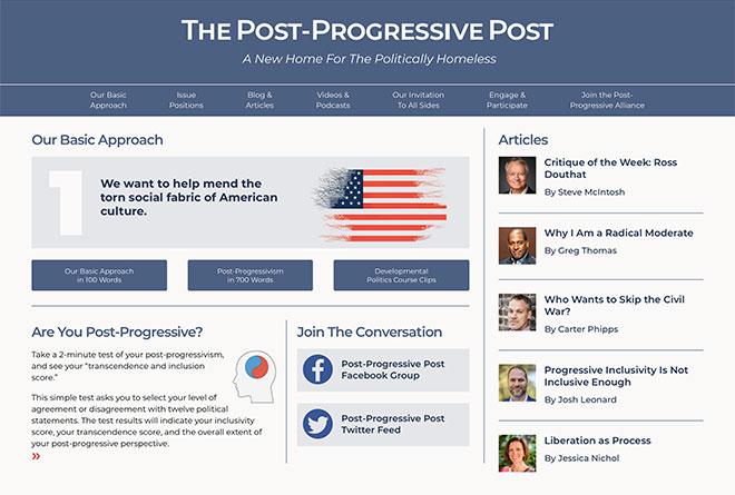 The Post-Progressive Post Website